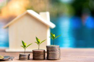house, money, growth