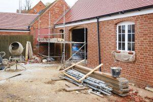 Work needing construction insurance