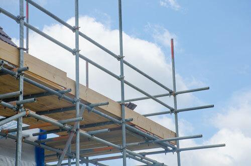 Insuring property developments